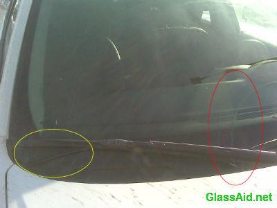 Car Scratch Repair Cost >> Windshield Scratches | GlassAid.net